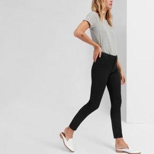 Everlane Mid-Rise Skinny Jean Black Size 28